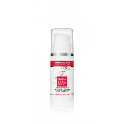 HADA LABO CONCENTRATED WATER SERUM LOCK-IN-MOIST SUPER HYALURONIC ACID 30ml