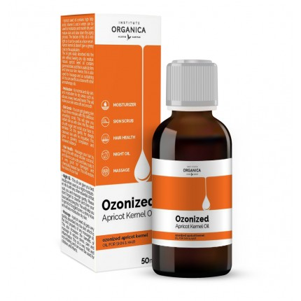 OZONATED APRICOT KERNEL OIL-For skin & hair