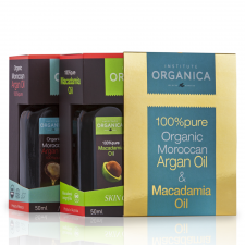 ARGAN OIL 100% PURE- 100% + MACADAMIA OIL 100% PURE – 100%