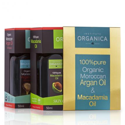ARGAN OIL 100% PURE- 100% + MACADAMIA OIL 100% PURE – 100%