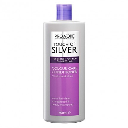 PRO:VOKE TOUCH OF SILVER COLOUR CARE CONDITIONER 400ml