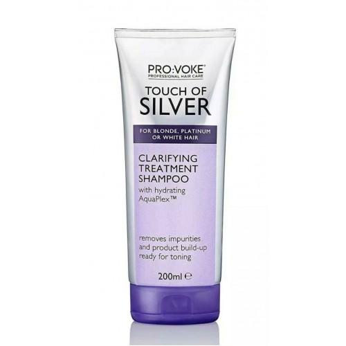 PRO:VOKE  Touch Of Silver  Clarifying Treatment Shampoo