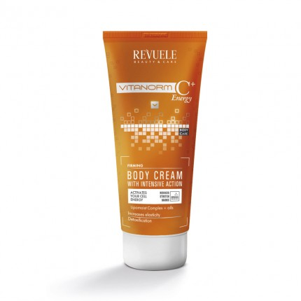 REVUELE VITANORM C+ Energy- FIRMING BODY CREAM
