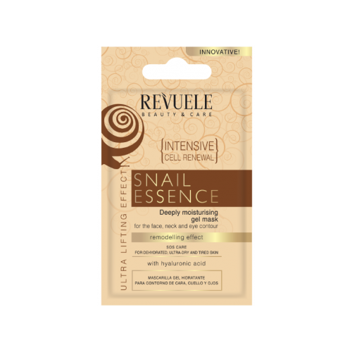 SNAIL ESENCE-INTENSIVE CELL RENEWAL – Deeply Moisturising gel mask- for face, neck and eye contour