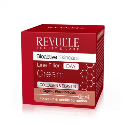 "REVUELE ""BIO ACTIVE""-COLLAGEN&ELASTIN Line Filler DAY Cream"