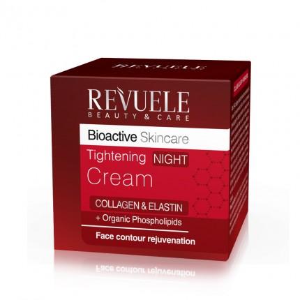 """REVUELE """"BIO ACTIVE""""-COLLAGEN&ELASTIN Tightening NIGHT Cream"""
