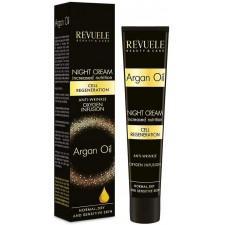 Moisturizing Night Face Cream Anti-Wrinkle REVUELE Argan Oil 50ml