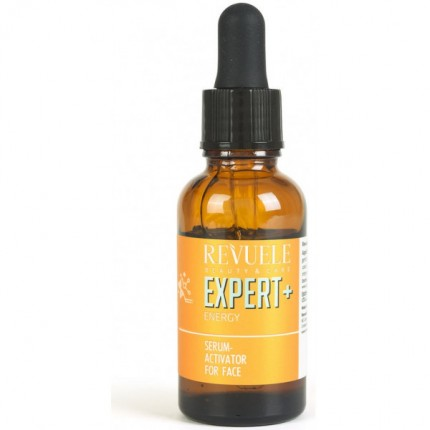 REVUELE ENERGY SERUM ACTIVATOR FOR FACE FOR TIRED LOOKING SKIN