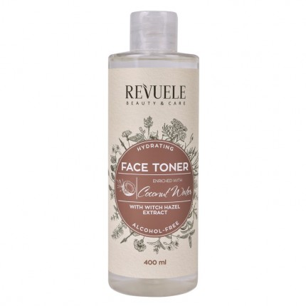 FACE TONER HYDRATING WITCH HAZEL EXTRACT + COCONUT WATER