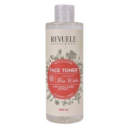 FACE TONER REVITALIZING WITCH HAZEL EXTRACT + ROSE WATER