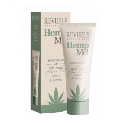 Крем за раце REVUELE Hemp me! Hand cream 80 ml