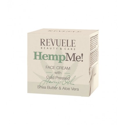 Хидратантeн крем за лице REVUELE Hemp me! Facial Cream 50ml