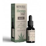 Серум за коса REVUELE HEMP ME! HAIR LIQUID CRYSTALS 30ml
