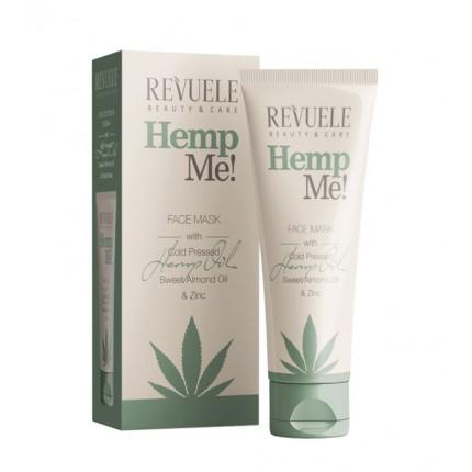 Маска за сите типови кожа REVUELE Hemp me! Face mask 80 ml