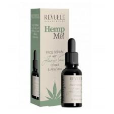 Навлажнувачки и регенерирачки серум за лице REVUELE Hemp Mе! - FACE SERUM 30ml