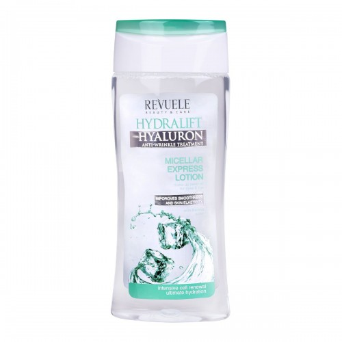 HYDRALIFT HYALURON Micellar Express Lotion Make-up Remover for eyes & lips 200ml