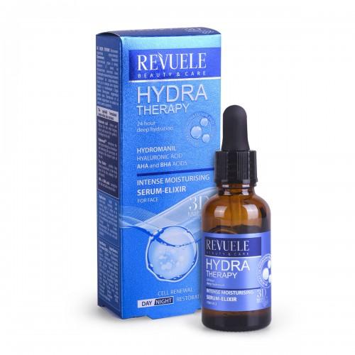 Интензивен серум за хидратација на лицето REVUELE Hydra Therapy 25ml