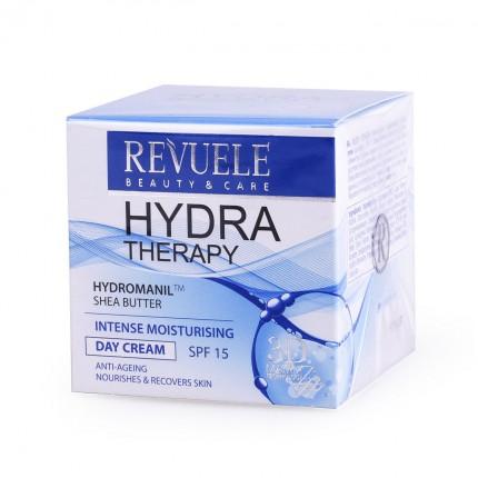 Дневна крема за интензивна хидратација на кожата на лицето REVUELE Hydra Therapy 50ml