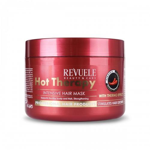 Маска за стимулирање на раст на косата REVUELE Hot Therapy 500ml