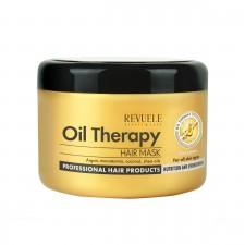 Маска за зајакнување на косата REVUELE Argan Oil Therapy 500ml
