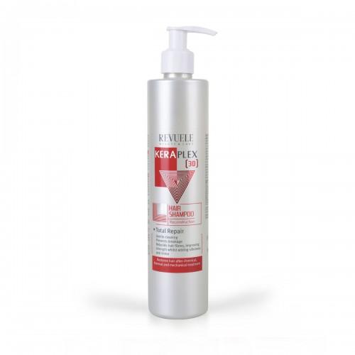 Шампон за регенерирање и обновување на косата REVUELE Keraplex 3D 335ml