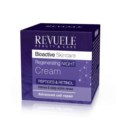 REVUELE BIOACTIVE PEPTIDES & RETINOL Regenerating Night Cream 50ml