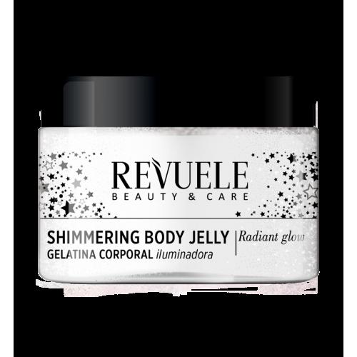 Silver Shimmering Body Jelly