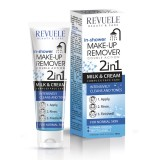 REVUELE IN SHOWER MAKE UP REMOVER-2 in 1- MILK & CREAM- NORMAL SKIN