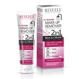 REVUELE IN SHOWER MAKE UP REMOVER-2 in 1- MILK & CREAM- SENSITIVE SKIN
