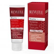 """REVUELE """"BIO ACTIVE""""-COLLAGEN&ELASTIN Revitalizing MICRO SERUM"""