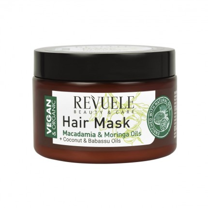 VEGAN & ORGANIC HAIR MASK 360ml