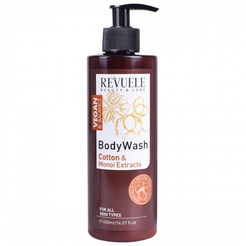 Vegan & Balance Body Wash with Cotton & Monoi Extracts