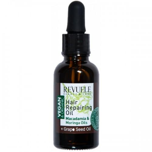 Vegan & Organic Hair Repairing Oil
