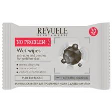 Влажни шамивчиња Charcoal anti-acne and pimples for problem skin  - 20 pcs per pack