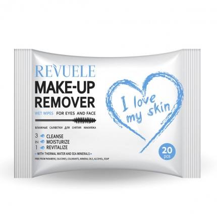 Влажни шамивчиња Wet wipes MAKE-UP REMOVER I LOVE MY SKIN