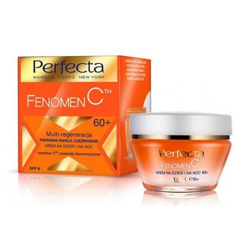 PERFECTA –FENOMEN C DAY&NIGHT CREAM- 60+ SPF-6 Multi Regeneration, Toned & Lifted Look