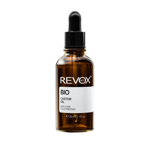 JUST REVOX CASTOR OIL 100% PURE COLD PRESSED 30ml