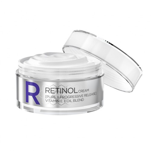 REVOX RETINOL CREAM PURE PROGRESSIVE RELEASE-VIT.E + OIL BLEND ANTI-WRINKLE CONCENTRATE DAILY PROTECTION SPF 20 50ml