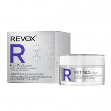 REVOX RETINOL CREAM PURE PROGRESSIVE RELEASE-VIT.E + OIL BLEND ANTI-WRINKLE CONCENTRATE DAILY PROTECTION SPF 20 50ml