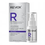 REVOX RETINOL EYE CONTURE GEL ANTI-WRINKLE CONCENTRATE, DARK CIRCLES & PUFFY EYES 30ml