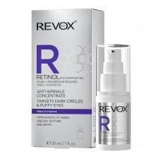REVOX RETINOL EYE CONTURE GEL ANTI-WRINKLE CONCENTRATE, DARK CIRCLES & PUFFY EYES 30ml