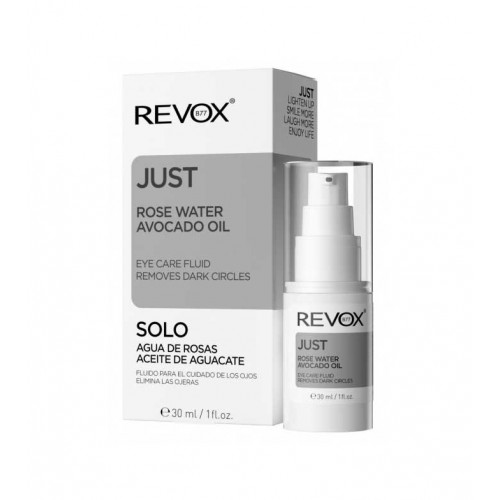 REVOX JUST EYE CARE FLUID REMOVES DARK CIRCLES