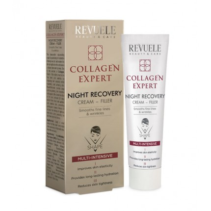 FACE NIGHT CREAM- FILLER MULTI-INTENSIVE-SMOOTHS fine lines & wrinkles