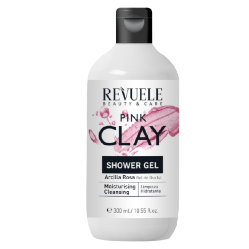 REVUELE PINK CLAY SHOWER GEL –Хидратантен гел за туширање со розева глина