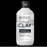 REVUELE  WHITE CLAY SHOWER GEL – Освежувачки гел за туширање со бела глина (каолин)
