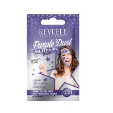 REVUELE GLITTER MASK Purple Dust Sachets